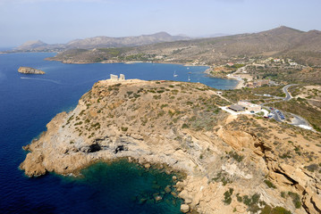Greece Cape Sounion Temple of Poseidon