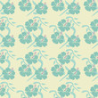 roleta: hibiscus seamless pattern vector