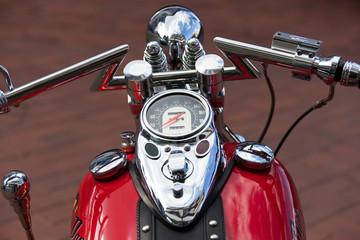 Harley aus Fahrersicht