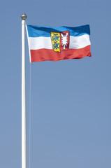 Fahne des Bundeslandes Schleswig-Holstein