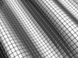 Abstract aluminum shiny square background