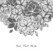 Doodle Floral Background 2