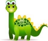 Cute green dinosaurs cartoon - 22231669