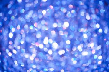 ブルーの光が綺麗なバック