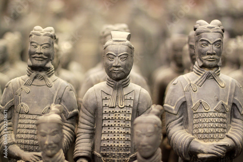 Leinwanddruck Bild Terracotta warriors, China