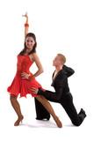 Fototapety Ballroom Dancers Latin 07
