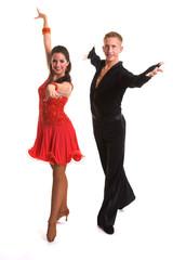 Ballroom Dancers Latin 09