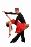Fototapety Ballroom Dancers Latin 02