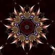 Leinwandbild Motiv Barbed Blossom Corona