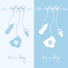Baby Cards Symbols Boy