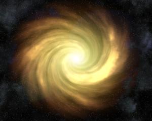 super nova and star field