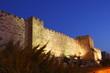 Die Altstadtmauer von Jerusalem
