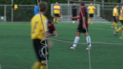 Soccer match penalty - HD