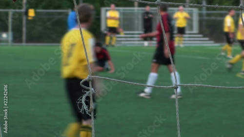 Soccer match penalty - HD