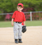 Little League Baseball Player