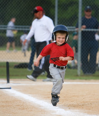 Baseball Player Running