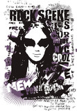 Fototapety woman pop art poster