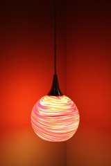 Modern Glass Ball Hanging Lamp