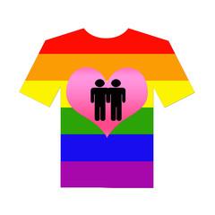 camiseta  gays