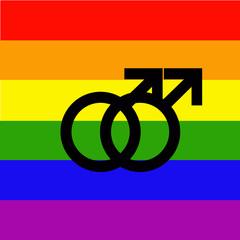 bandera orgullo gays