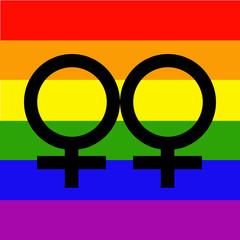 bandera orgullo gay lesbianas