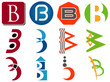 Letter B Logo Icons