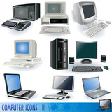 Fototapety Computer icons 2