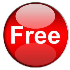 Bottone Free Rosso