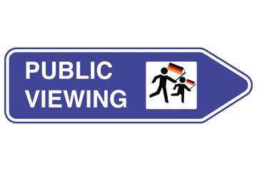 Public Viewing Wegweiser