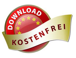 button download kostenfrei rot banner schleife