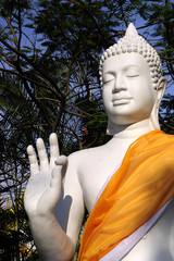 Statue of Buddha ,Songthum Temple,Thailand
