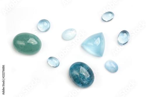 Aquamarine gemstones - 22276686