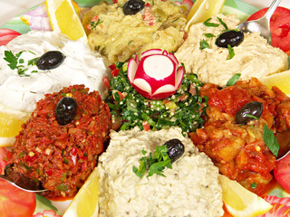 Middle Eastern Appetizer
