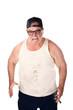Large man