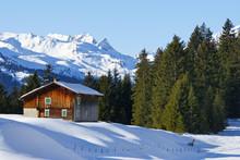 L'hiver dans les montagnes