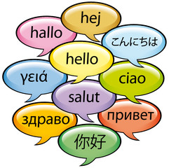 Saluti in dieci lingue