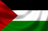 Nationalfahne von Palästina poster
