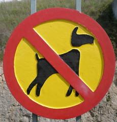 no dogs,no cani