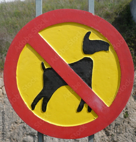 no dogs,no cani