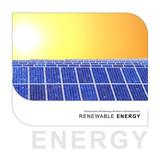 renewable energy - solar design poster