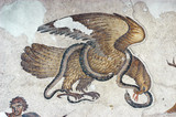 Eagle and Snake, mosaic