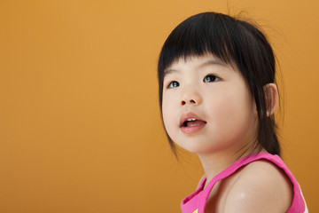 Asian baby child girl