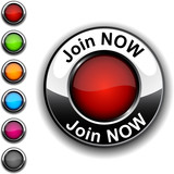 Join now button. poster
