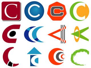 Letter C Logo Icons