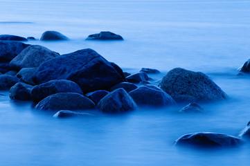 Felsen im Wasser