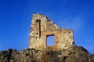 Ancient Rupea ruin