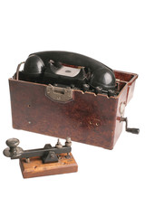 Creative vintage army phone