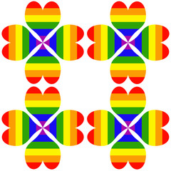 flores orgullo gay