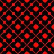 grecas negras y rojas
