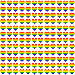 fondo de corazones orgullo gay